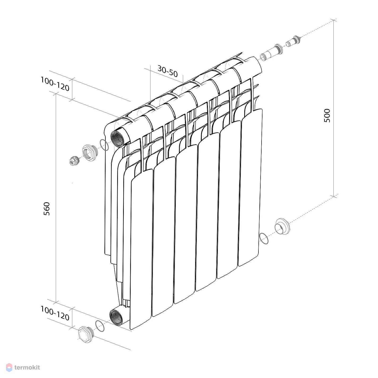 Какие радиаторы лучше, алюминиевые или биметаллические: экспертное мнение