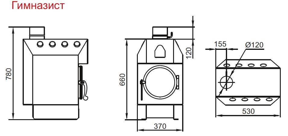 Отопительная печь бутакова: 6 основных моделей