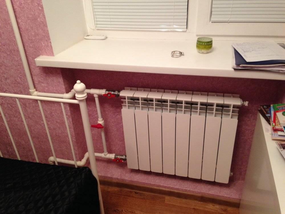 Замена труб отопления в квартире - система отопления