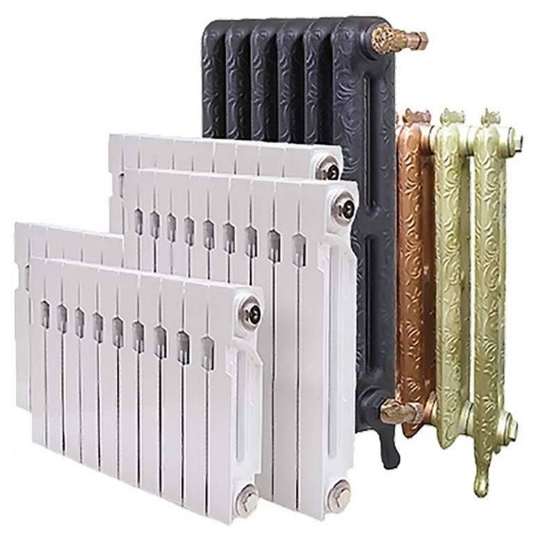 Теплоотдача радиаторов отопления – сравнение и расчет мощности