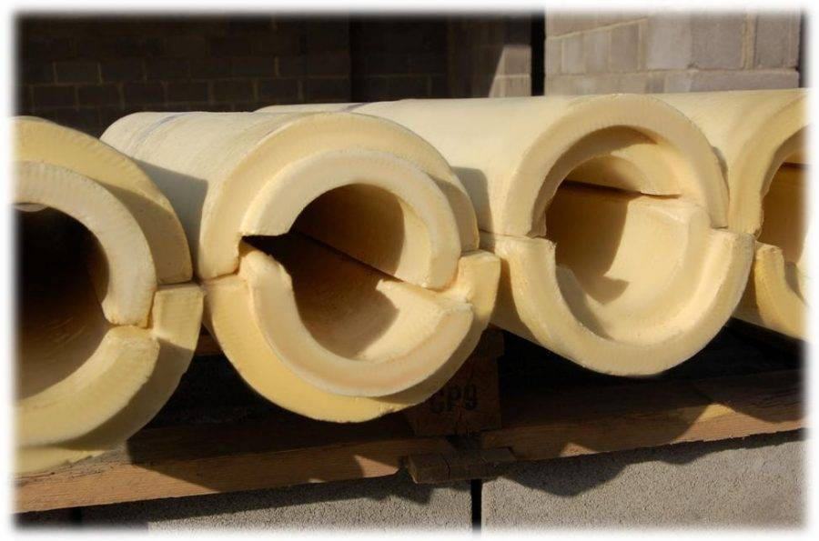 Ппу скорлупа для труб: сравнительные достоинства утеплителя и правила монтажа