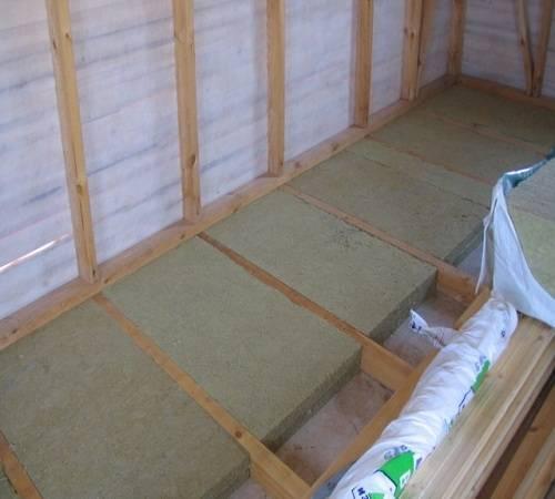 Когда нужна подложка под линолеум на бетонный пол:выбор и монтаж