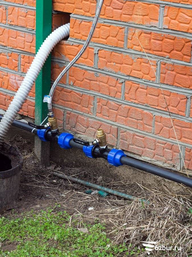 Летний дачный водопровод: проектирование и монтаж своими руками