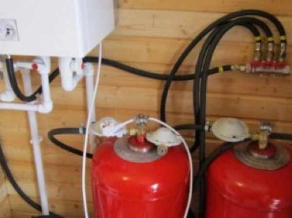 Использование газового котла на пропане для отопления дома