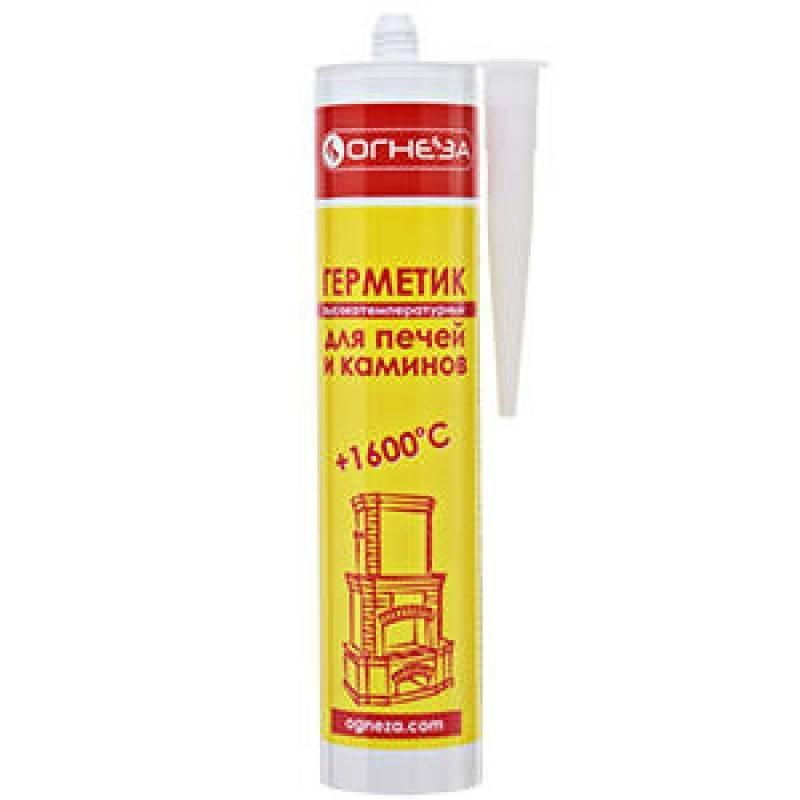 Высокотемпературный герметик термостойкий силиконовый и жаростойкий силикатный