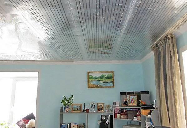 Инфракрасное отопление на потолок - система отопления