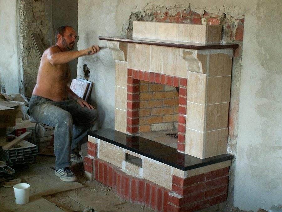 Как построить камин своими руками: пошаговая инструкция, чертежи и схемы