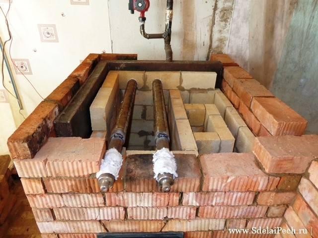 Самодельный котел для водяного отопления в частном доме
