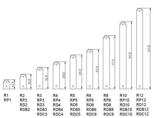 Виды батарей и размеры радиаторов отопления: ширина, высота и толщина