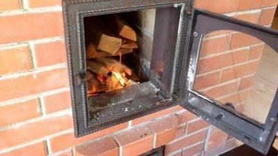 Как правильно просушить новую кирпичную печь