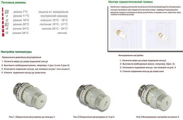 Регуляторы температуры для батарей отопления: выбор и установка терморегуляторов