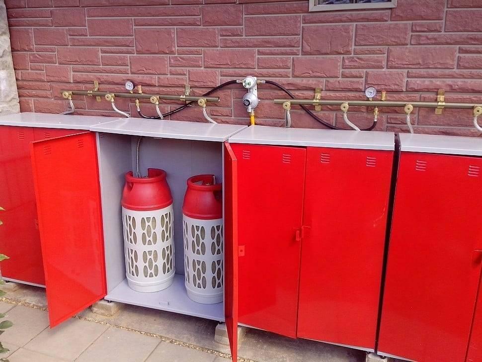 Как отопить дом с помощью газовых баллонов?