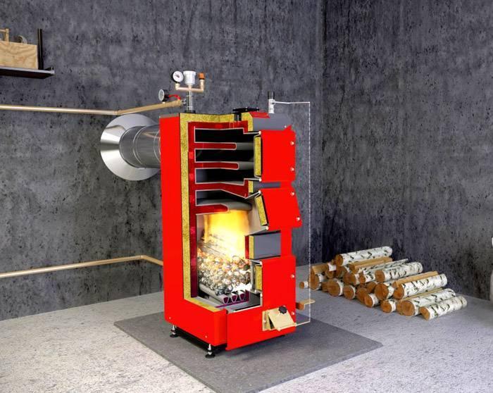 Комбинированные и раздельные котлы для отопления на дровах и электричестве