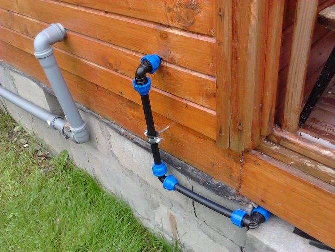 Трубы пнд для водопровода как соединять Размеры и фитинги к ним технические характеристики и расшифровка