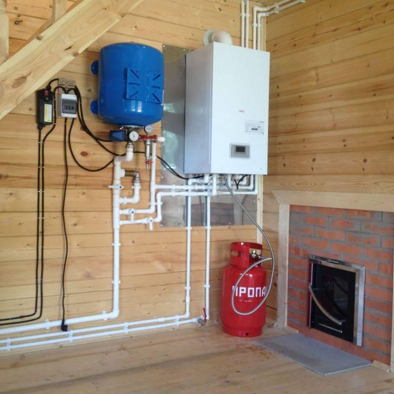 Отопление дачного дома своими руками: схемы, системы, методы
