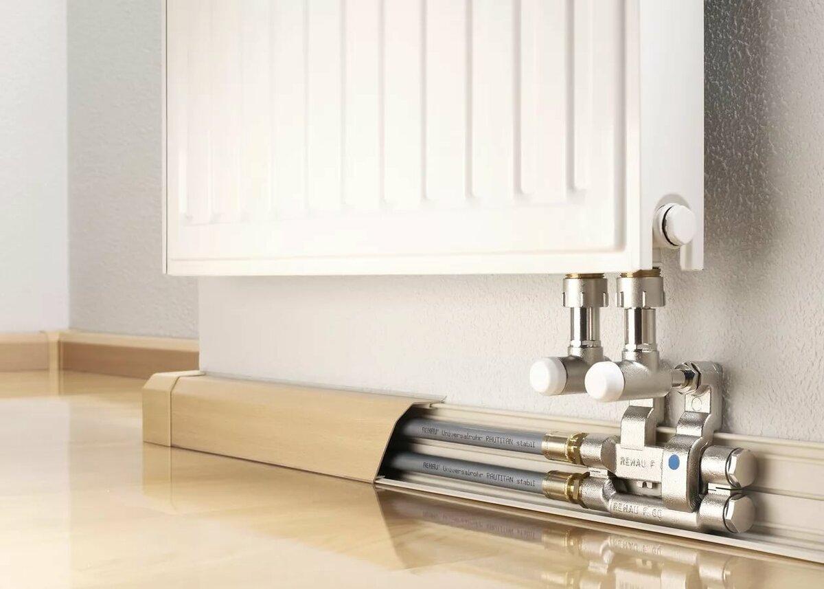 Как спрятать трубы отопления в короб?