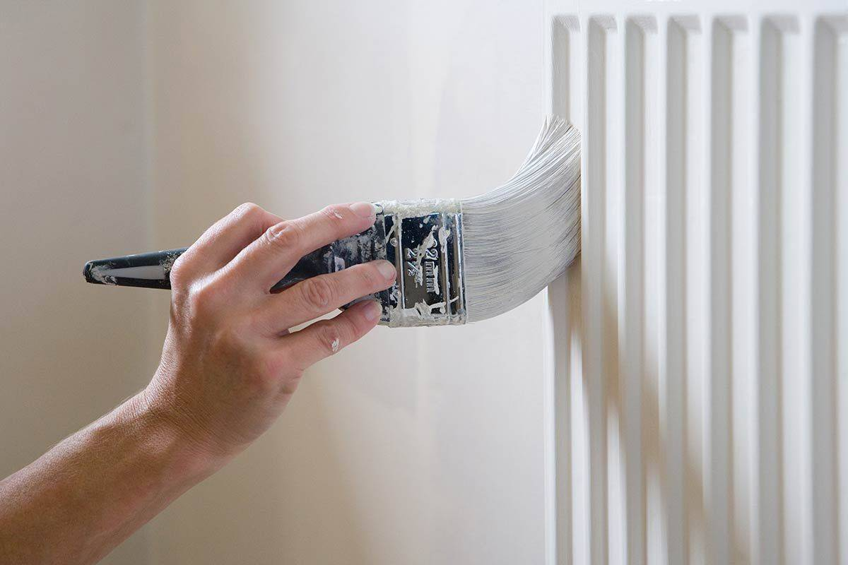 Как покрасить трубы отопления