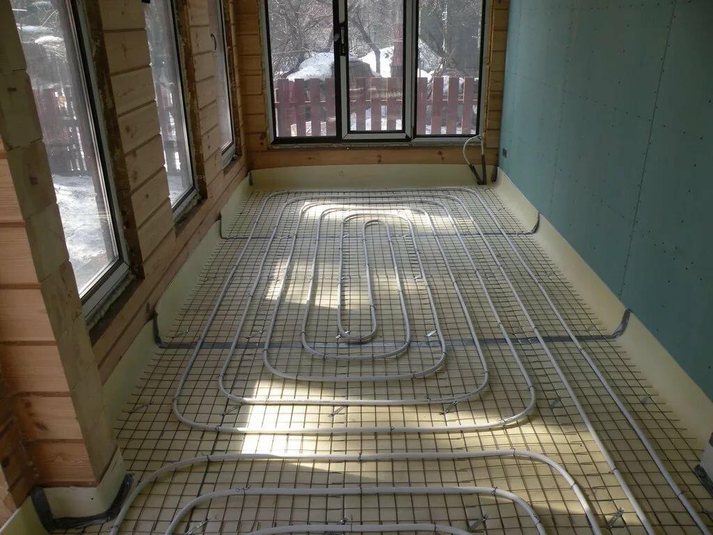 Водяной теплый пол в квартире правила монтажа