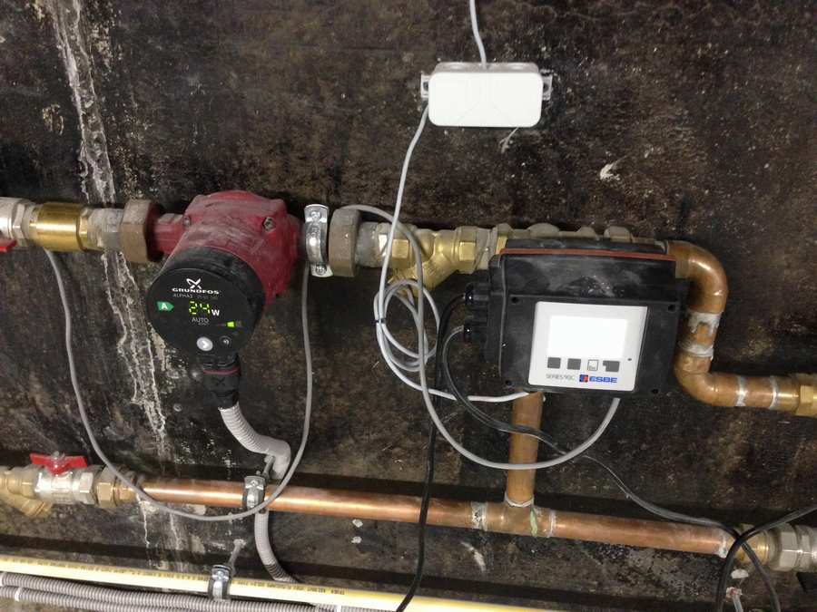 Погодозависимые системы отопления в доме