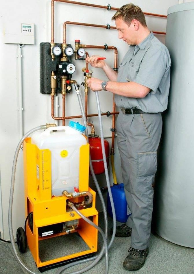 Как и чем почистить отопительный контур: топ-10 средств и жидкостей для промывки систем отопления