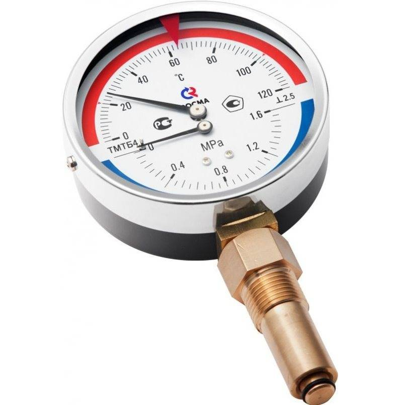 Термометры для измерения температуры воды в отоплении