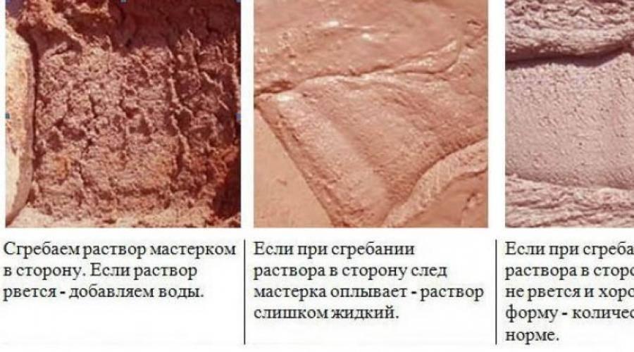 Как замесить глину для кладки печи: пропорции, способы замеса