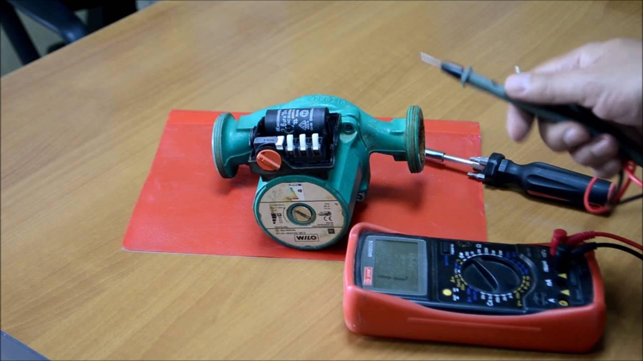 Как проверить насос отопления циркуляционный на исправность и работоспособность: проверка работы