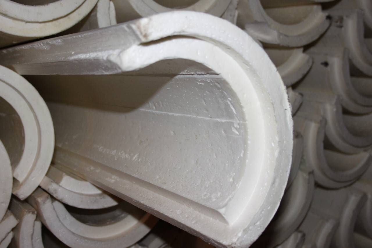 Скорлупа ппу для теплоизоляции труб отопления и гвс