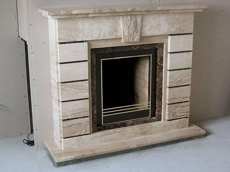 Виды порталов для камина и особенности их изготовления