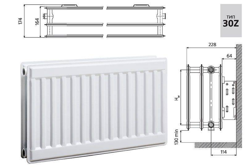 Стальные радиаторы отопления: металлические панельные батареи, железные панельного типа, цельнометаллические отопительные приборы, какие лучше, штампованные, секционные