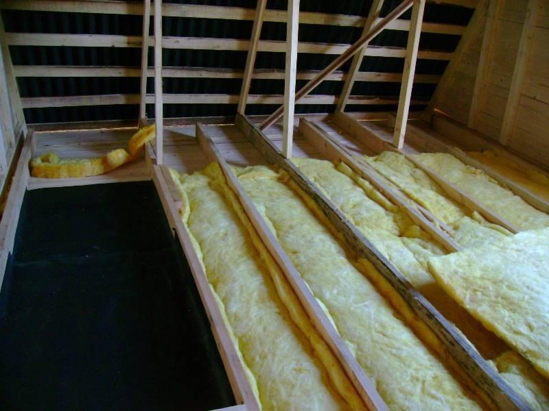 Утепление потолка - 120 фото простых и эффективных изоляционных конструкций