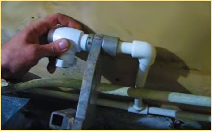 Отопление в частном доме из полипропиленовых труб: схемы, монтаж