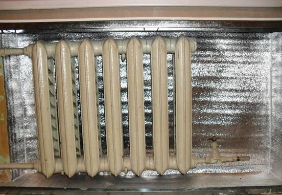 Тепловой экран – повысим эффективность работы отопительных батарей!