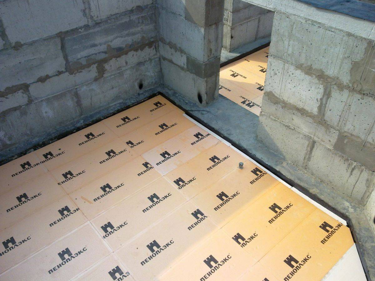 Утеплитель для пола по бетону под стяжку: какой пенополистирол лучше, жесткий минеральный технониколь, теплоизоляция минватой