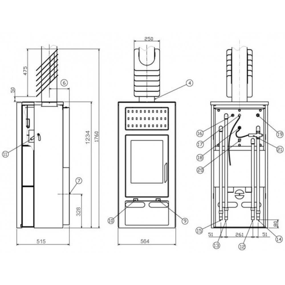 Железный камин: особенности устройства и изготовление