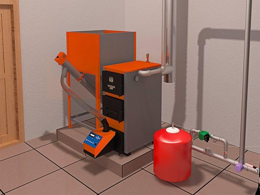 Печи длительного горения с водяным контуром – принцип работы и модели