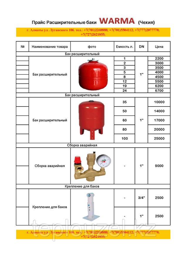 Объем расширительного бака для открытой системы отопления - всё о сантехнике
