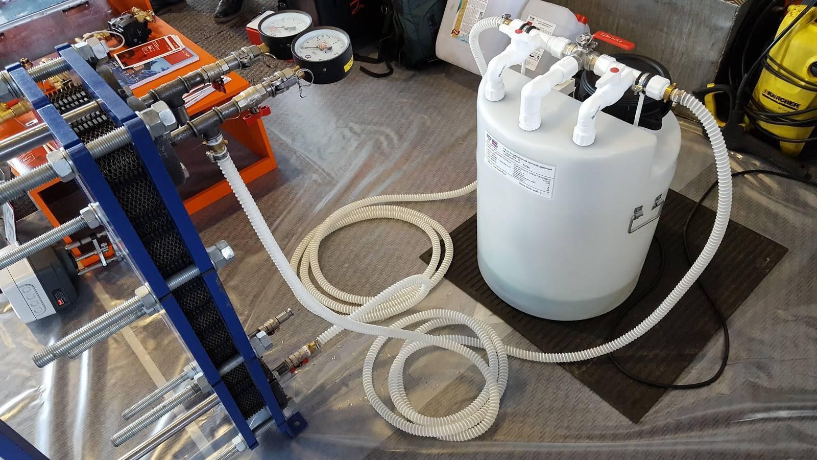 Промывка теплообменника газового котла лимонной кислотой - ремонт квартир фото