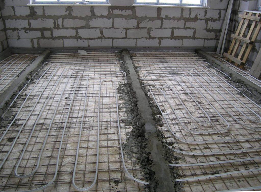 Состав раствора для стяжки водяного теплого пола
