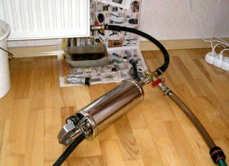 Гидропневматическая промывка и опрессовка системы отопления: правила и инструкции