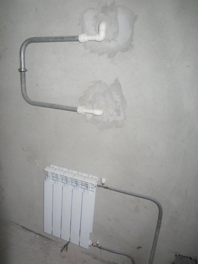 Какая батарея в ванной комнате обычно устанавливается