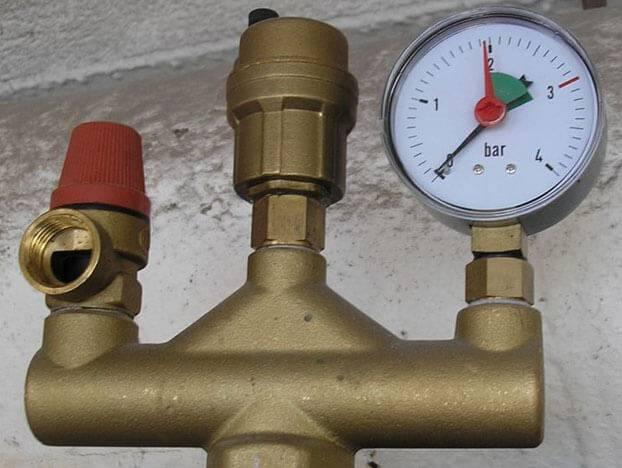 Оптимальное давление в системе отопления замкнутого типа