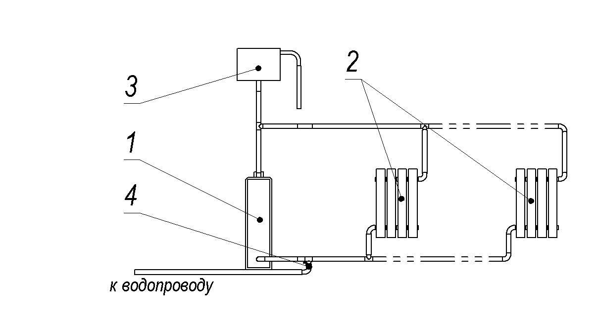 Как устроена схема отопления частного дома – наглядное пособие по монтажу