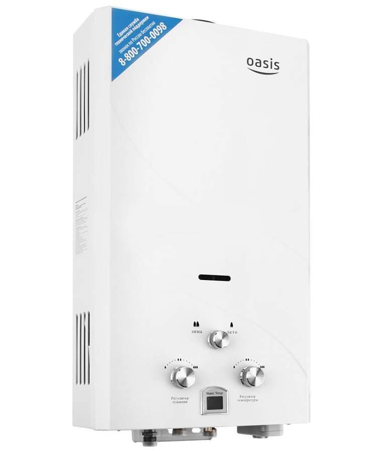 Популярные модели газовых колонок Оазис — инструкция по эксплуатации