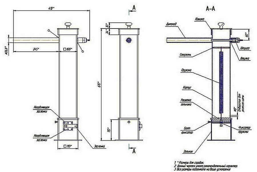 Как сделать дымогенератор для холодного копчения своими руками: чертежи, видео