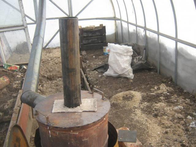 Печь для теплицы: устройство самодельной печки длительного горения, изготовление «бубафони» своими руками и особенности обогрева теплицы печью на дровах