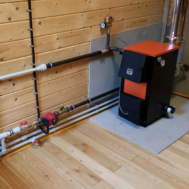 Отопление загородного дома без газа - варианты отопления частного дома