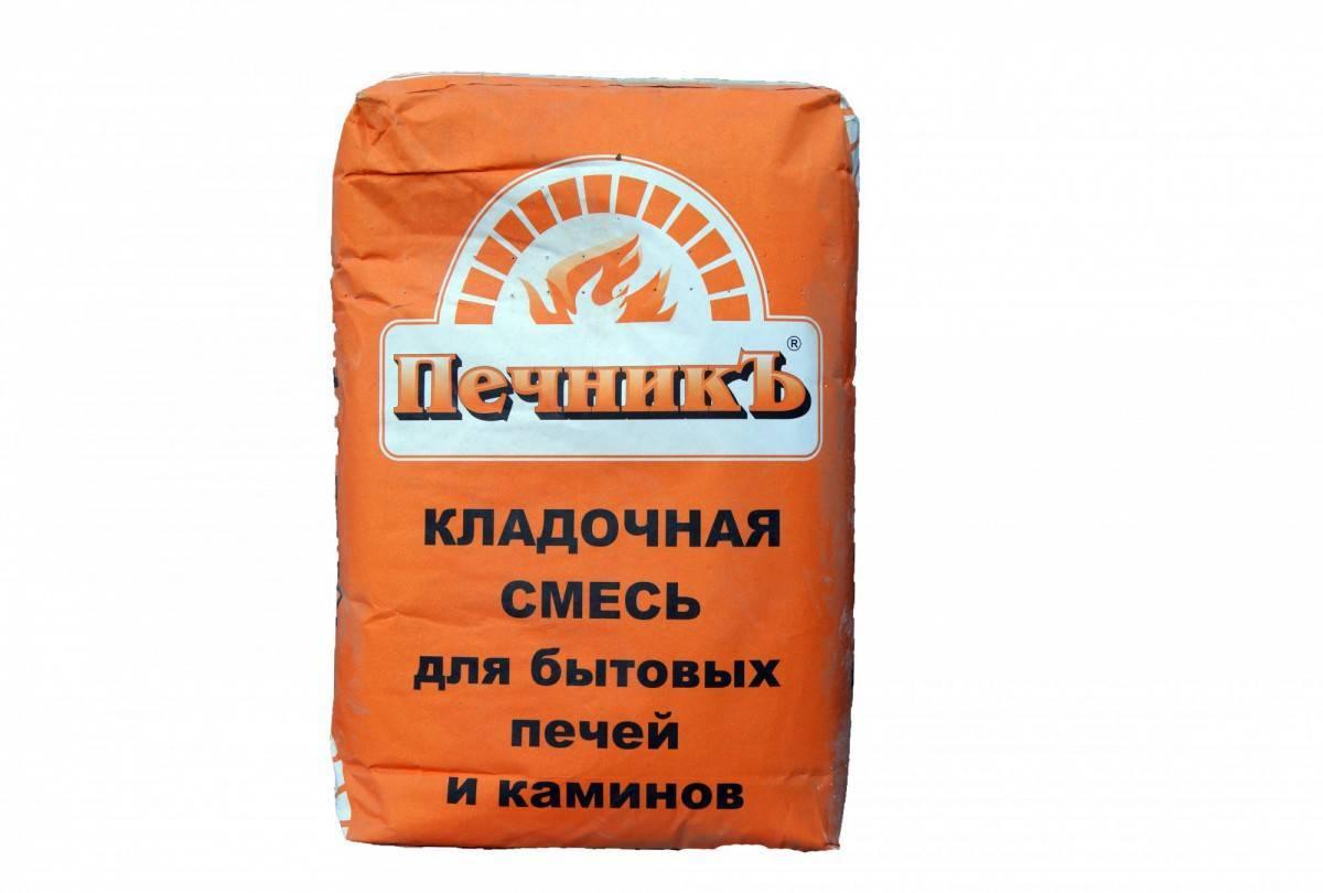 Раствор для печей и каминов: огнеупорный раствор для кладки печей, глина, жаропрочные смеси, на какой раствор кладут
