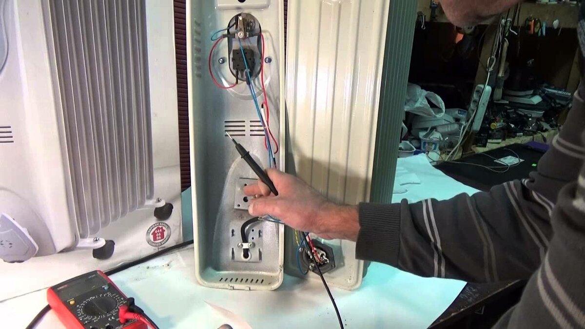 Ремонт масляных обогревателей для новичков своими руками: пошаговая инструкция