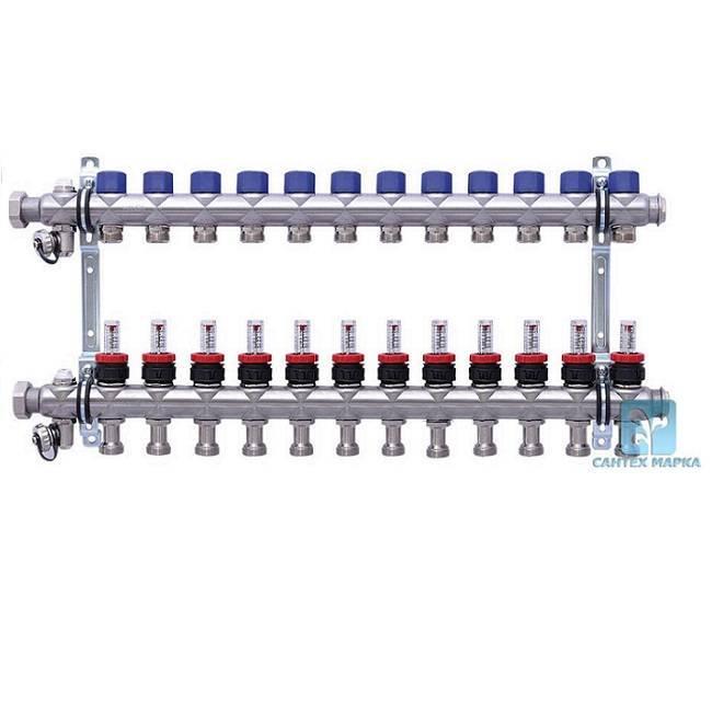 Коллектор для водоснабжения своими руками из полипропилена - отопление и водоснабжение
